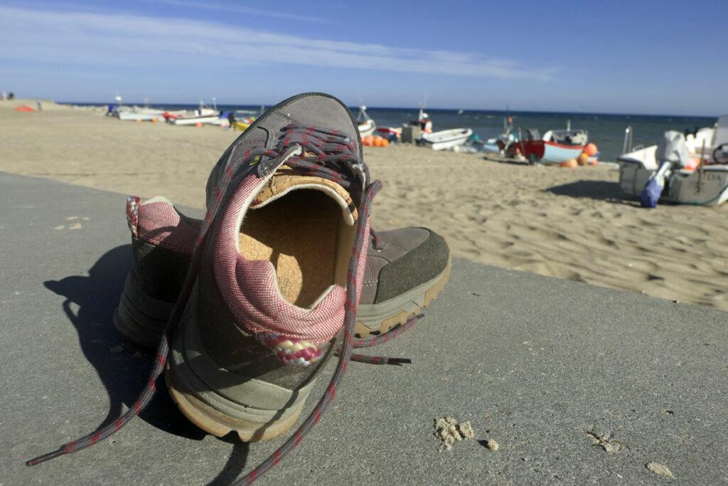 Ein paar Schuhe